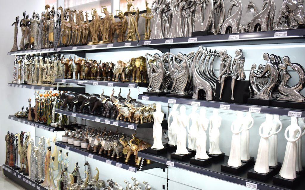 Decoração no Shopping China