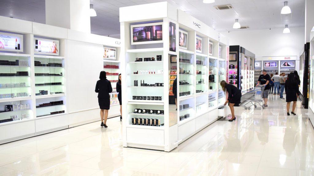 Cosméticos no Shopping China