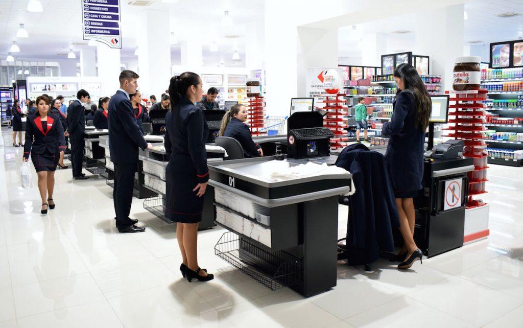 Pagamento no Shopping China