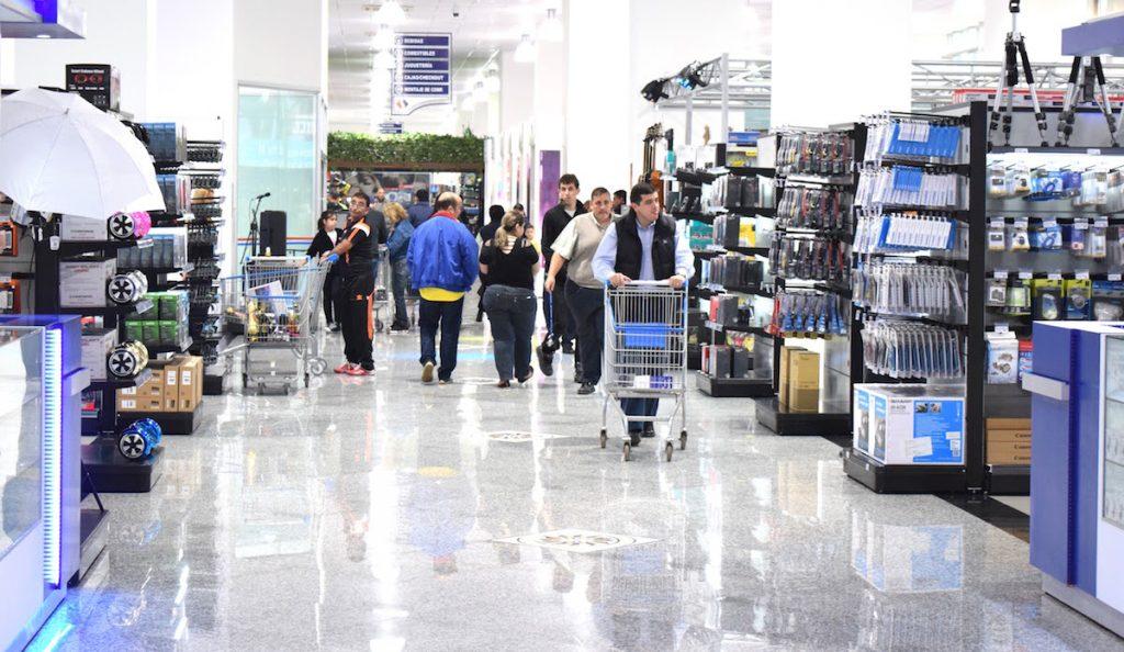 Corredor no Shopping China