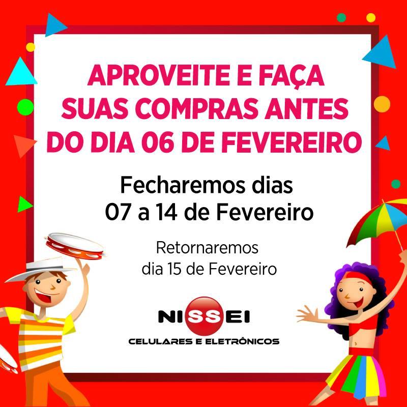 NISSEI Fecha Carnaval