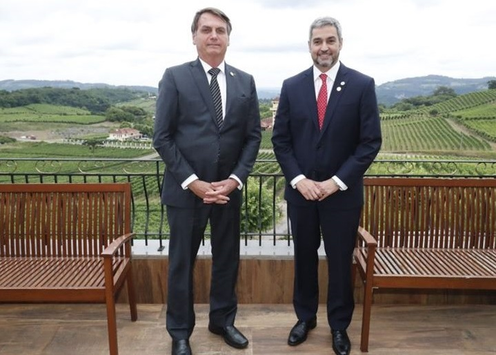 Bolsonaro e Marito
